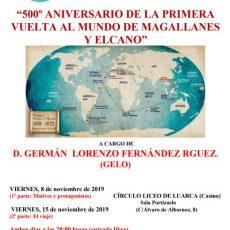 500º aniversario de la primera vuelta al mundo de Magallanes y Elcano