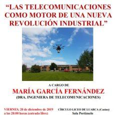 Las telecomunicaciones como motor de una nueva revolución industrial.