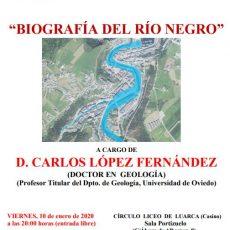 Biografía del Río Negro.